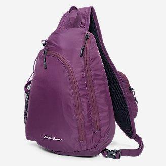 Ripstop Sling Pack in Purple