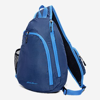 Ripstop Sling Pack in Blue