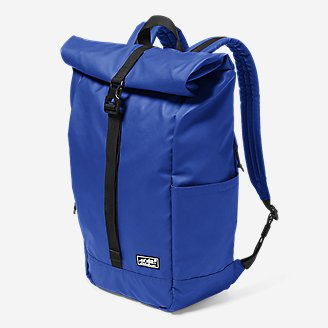 Camano Roll-Top Pack in Blue