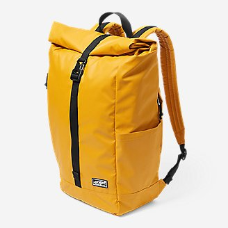 Camano Roll-Top Pack in Yellow