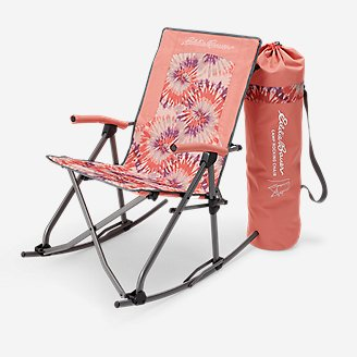 Camp Rocking Chair in Red