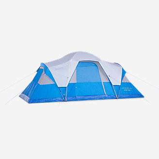 Olympic Dome 10 Multi-Room Tent in Blue