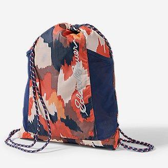 Stowaway String Pack in Orange