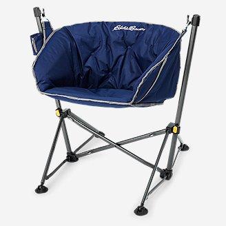 Moon Hammock Chair in Blue