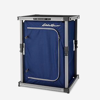 Foldable Camp Pantry in Blue