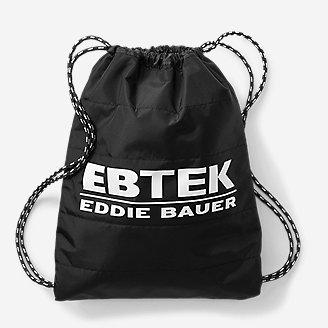 EBTek Drawstring Pack in Black