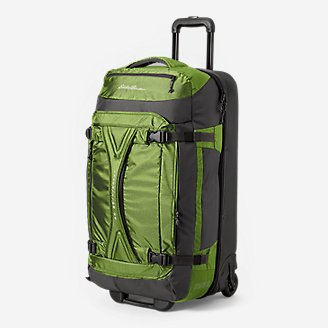 Expedition Drop-Bottom Rolling Duffel - Large in Green