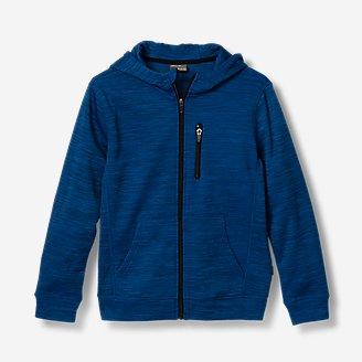 Boys' Boulder Peak Full-Zip Hoodie in Blue