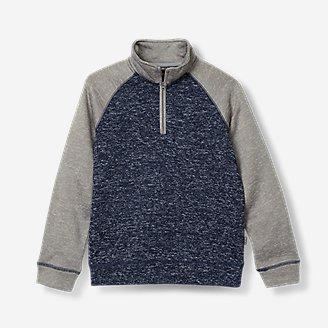 Boys' Radiator Fleece 1/4-Zip in Blue