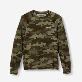 Boys' Boulder Peak Long-Sleeve T-Shirt in Green