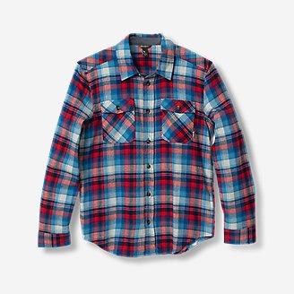 Boys' Eddie's Favorite Flannel Shirt - Print in Red