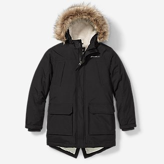 Boys' Superior Down Parka in Gray