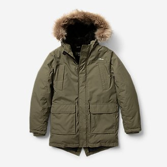 Boys' Superior Down Parka in Green