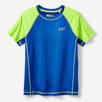 Boys' Boulder Peak Performance T-Shirt in Blue