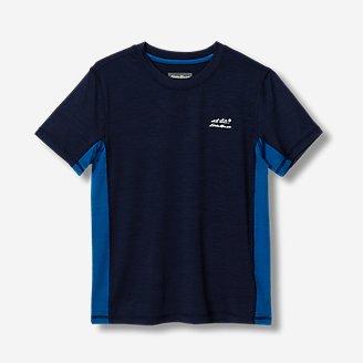 Boys' Boulder Peak T-Shirt in Blue