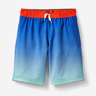 Boys' Sea Spray Swim Shorts - Magic Print in Blue