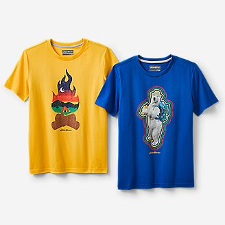 Boys' Graphic T-Shirt Bundle in Yellow