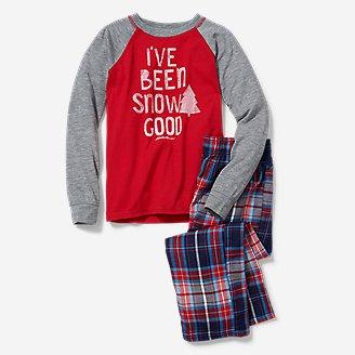 Boys' Eddie's Favorite Flannel Sleep Set in Red