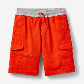 Boys' Adventurer Cargo Shorts in Red