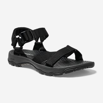 Men's Sport Sandal in Black