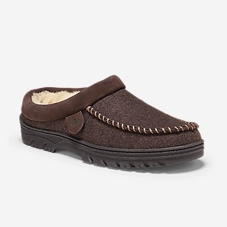 Men's Firelight Shearling-Lined Clog in Brown