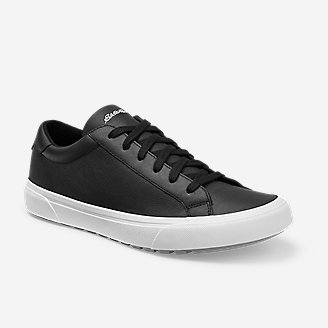 Men's Haller Leather Sneaker in Black
