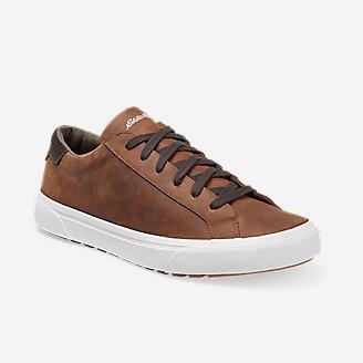 Men's Haller Leather Sneaker in Brown