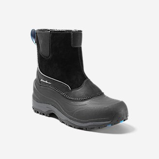 Men's Snowfoil Pull-On Boot in Black