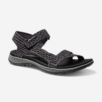 Women's Flexion Sandal in Black