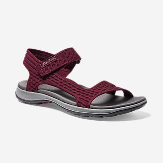 Women's Flexion Sandal in Red