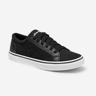 Women's Chatam Leather Sneaker in Black