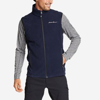 Men's Quest 200 Fleece Vest in Blue