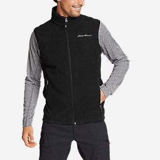 Men's Quest 200 Fleece Vest in Black