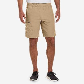 Men's Rainier Pull-On Shorts in Beige