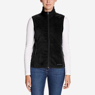 Women's Quest 200 Fleece Vest in Black