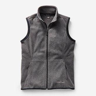 Women's Quest 200 Fleece Vest in Gray