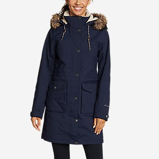 Women's Riley Insulated Parka in Blue