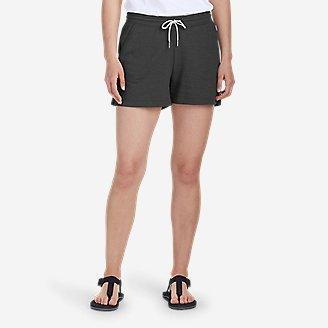 Women's Camp Fleece Shorts in Gray