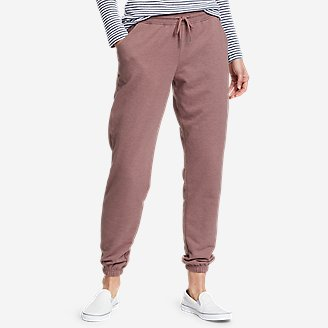 Women's Camp Fleece Jogger Pants in Pink
