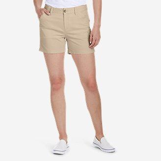 Women's Centerline Utility Cargo Shorts in Beige