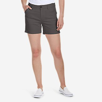 Women's Centerline Utility Cargo Shorts in Gray