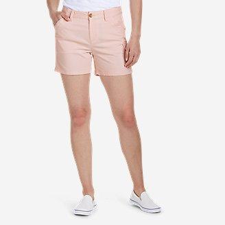Women's Centerline Utility Cargo Shorts in Red