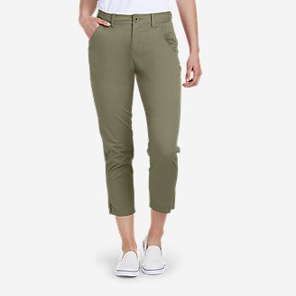 Women's Aspire Ankle Pants in Green