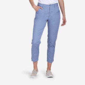 Women's Aspire Ankle Pants in Blue