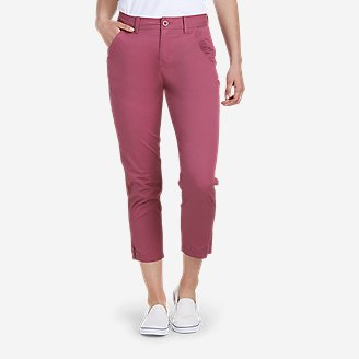 Women's Aspire Ankle Pants in Red