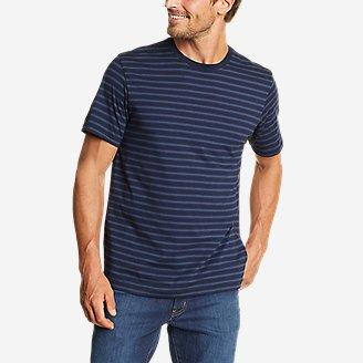 Men's Legend Wash Pro Short-Sleeve T-Shirt - Stripe in Blue