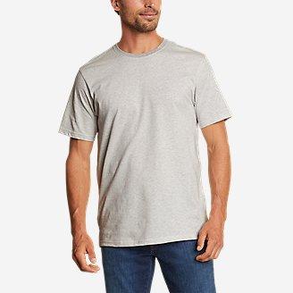 Men's Legend Wash Pro Short-Sleeve T-Shirt - Stripe in Gray