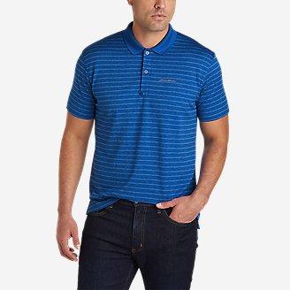 Men's Resolution Pro Polo Shirt - Stripe in Blue