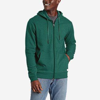 Everyday Full-Zip Hoodie in Green