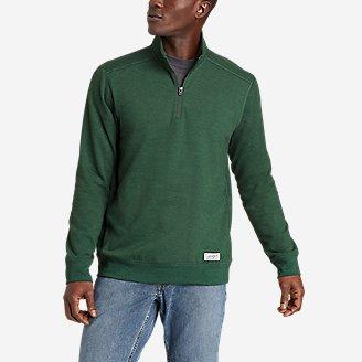 Men's Everyday Fleece 1/4-Zip in Green